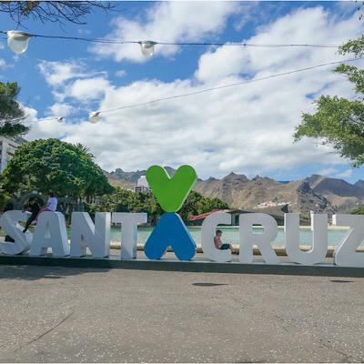 Letras Santa Cruz de Tenerife