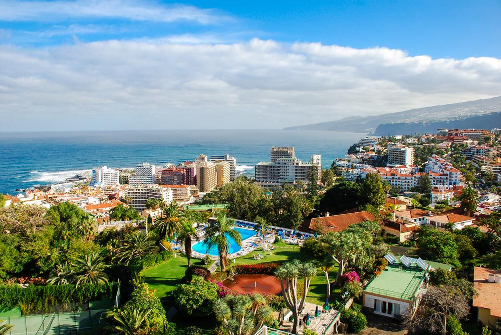 Dónde alojarse en Tenerife