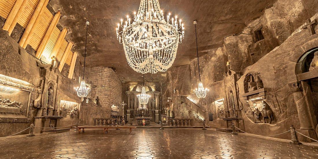 Minas sal de Wieliczka