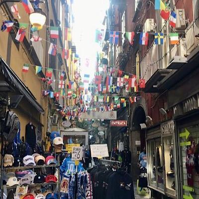 Quartieri Spagnoli Nápoles