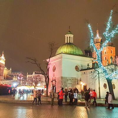 Cracovia en navidad