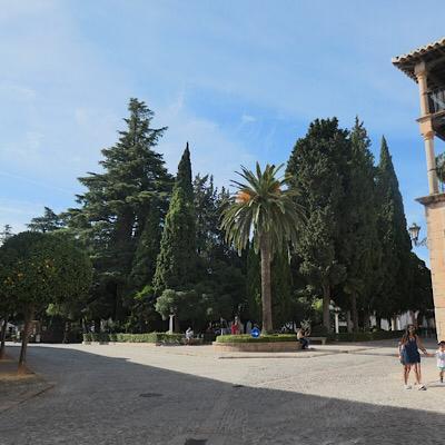 Plaza Duquesa de Parcent, qué ver en Ronda en 1 día