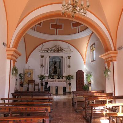 Interior Ermita del Carmen