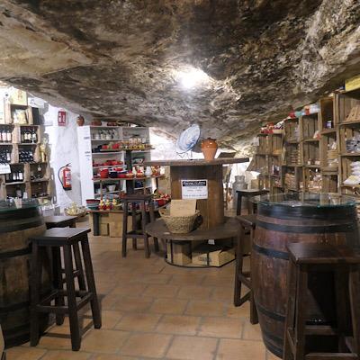 cueva alta Setenil de las Bodegas Cádiz