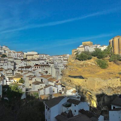 vistas mirador Setenil de las Bodegas Cádiz