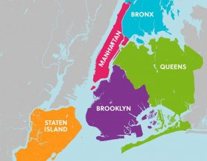 tour de contrastes mapa nueva york