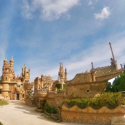 Castillo Colomares Foto