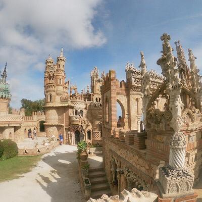 Castillo Colomares historia