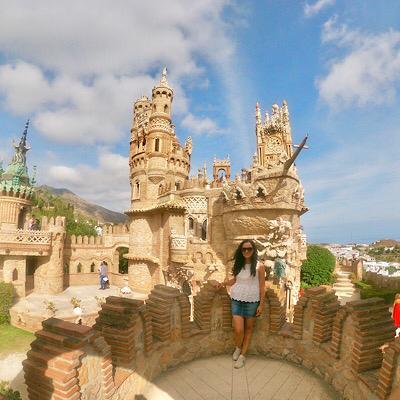 La famosa foto en el Castillo